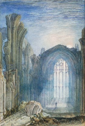 Joseph Mallord William Turner: Melrose Abbey: eine Illustration zu Sir Walter Scotts 'The Lay of the Last Minstrel'