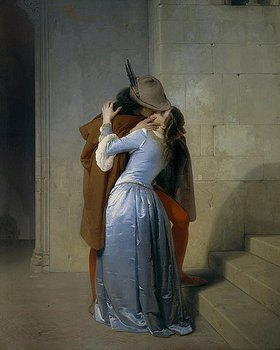 Francesco Hayez: Der Kuss