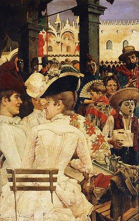 Oscar Wilson: In einem venezianischen Café
