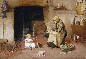 Charles Edward Wilson: Ein Besuch bei der Großmutter