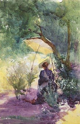 Mildred Anne Butler: Eine Malerin im Schatten eines Sonnenschirms