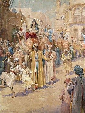 James Shaw Crompton: Ein Hochzeitsumzug durch Kairo
