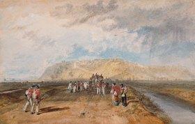 Joseph Mallord William Turner: Winchelsea von der Rye Road aus gesehen
