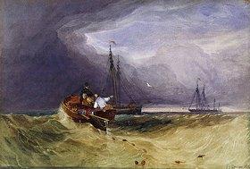 John Sell Cotman: Fischerboote vor Yarmouth