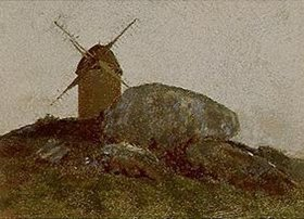 Odilon Redon: Die Mühle