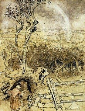 Arthur Rackham: Niemand kennt das Ende des Regenbogens