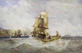 Charles Bentley: Vor der Küste von Scarborough