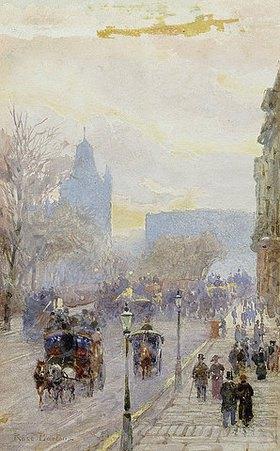 Rose Maynard Barton: Straßenansicht in London
