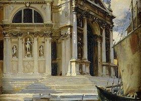 John Singer Sargent: Santa Maria della Salute, Venedig