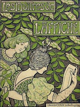 Paul Berthon: Titelblatt von 'Les Maîtres de l'Affiche', Band I-V