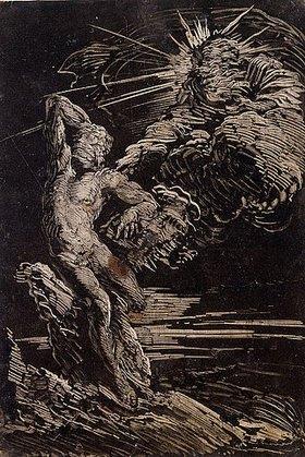 Giovanni Benedetto Castiglione: Die Erschaffung des Adam