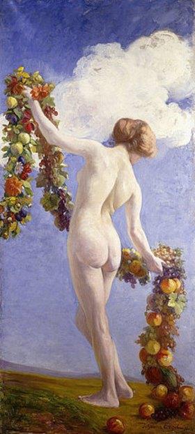 Johann Friedrich Engel: Die Jahreszeiten (Herbst). 1910 (siehe auch 34830-31)