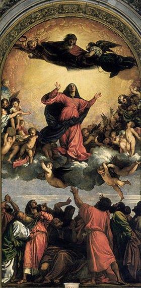 Tizian (Tiziano Vecellio): Himmelfahrt Mariae