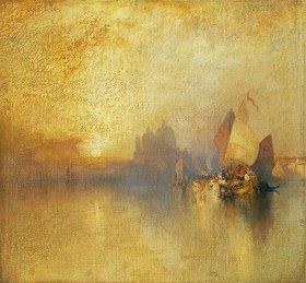 Thomas Moran: Venedig bei Sonnenuntergang