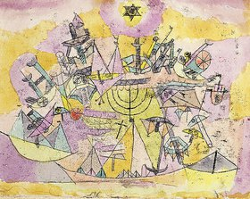 Paul Klee: Unstern der Schiffe