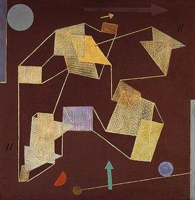 Paul Klee: Auftrieb und Weg (Segelflug)