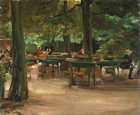 Max Liebermann: Biergarten