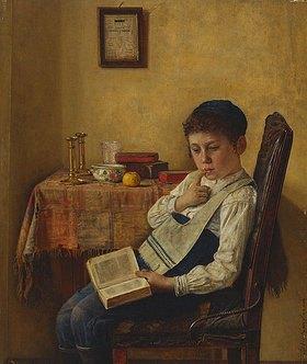 Isidor Kaufmann: Junge beim Talmud-Studi