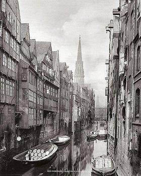 Georg Koppmann: Nikolaifleet, Hamburg