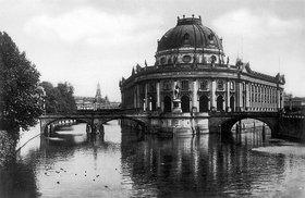 Unbekannter Künstler: Das Kaiser Friedrich Museum in Berlin (heute Bode Museum)
