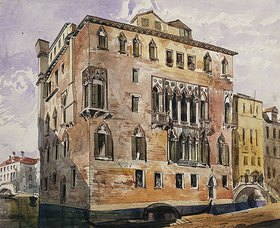 George Edmund Street: Palazzo Baldoer, Venedig