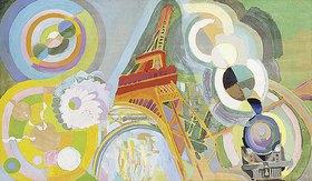 Robert Delaunay: Luft, Feuer und Wasser (Studie)