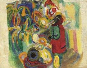 Robert Delaunay: Studie für die große Portugiesin