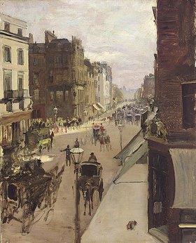Jacques-Emile Blanche: Ein Straßenszene in London