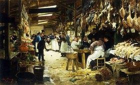 Victor Gabriel Gilbert: In der Markthalle