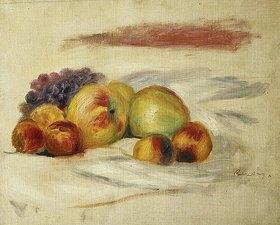 Auguste Renoir: Äpfel, Pfirsiche und Weintrauben