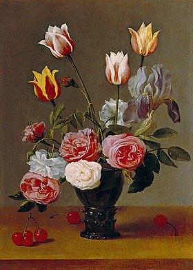 Jacob van Es: Blumenstillleben. Um 1620?