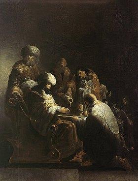 Leonard Bramer: Die Handwaschung des Pilatus