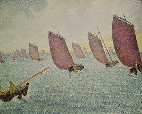 Paul Signac: Regatta vor Concarneau