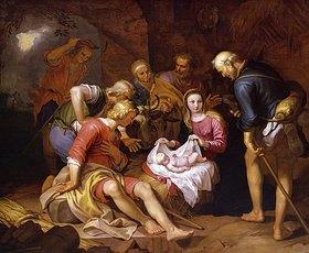 Abraham Bloemaert: Anbetung der Hirten