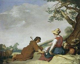 Abraham Bloemaert: Schäferszene