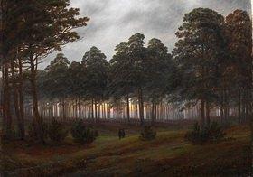 Caspar David Friedrich: Der Abend. 4. Bild der Folge der 'Vier Tageszeiten'