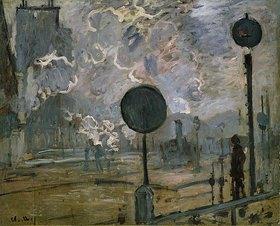 Claude Monet: Der Bahnhof Saint-Lazare (Le Signal)