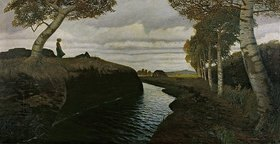 Otto Modersohn: Moorlandschaft
