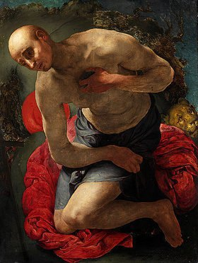 Jacopo Carucci da Pontormo: Der hl. Hieronymus als Büßer