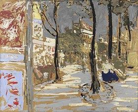 Edouard Vuillard: Le Boulevad des Batignolles