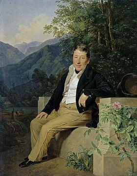 Ferdinand Georg Waldmüller: Bildnis Baron Moser