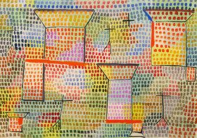 Paul Klee: Kreuze und Säulen