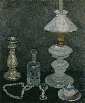 Paula Modersohn-Becker: Stillleben mit weißer Lampe