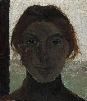 Paula Modersohn-Becker: Selbstbildnis (vor Fensterausblick)