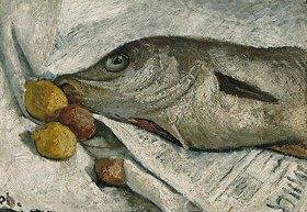 Paula Modersohn-Becker: Stillleben mit Fisch