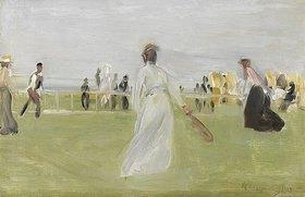 Max Liebermann: Tennisspieler am Meer (Scheveningen)