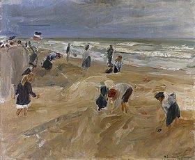 Max Liebermann: Strandscene in Noordwijk