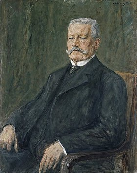Max Liebermann: Bildnis Paul von Hindenburg