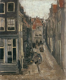 Max Liebermann: Judengasse in Amsterdam