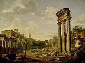 Giovanni Paolo Pannini: Die Sibylle von Cumae weissagt die Geburt Jesu Christi